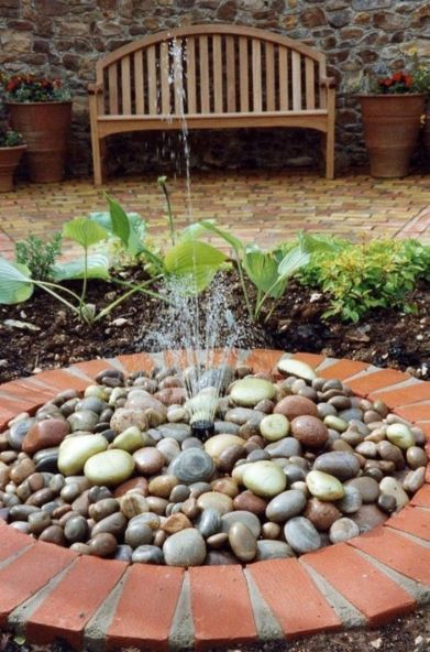 Small backyard waterfall design ideas 35