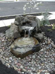 Small backyard waterfall design ideas 44