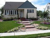 Stunning front yard entrance path walkway landscaping ideas 04