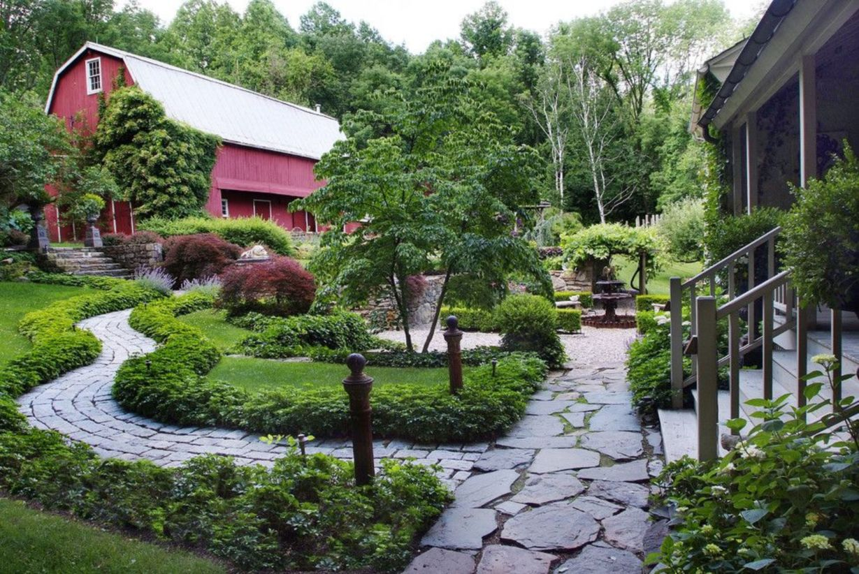 47 Stunning Front Yard Entrance Path Walkway Landscaping