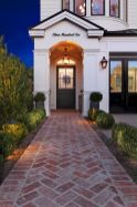 Stunning front yard entrance path walkway landscaping ideas 40