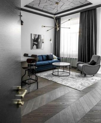 Stylish apartment studio decor furniture ideas 35