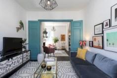 Totally inspiring boho living room ideas 17