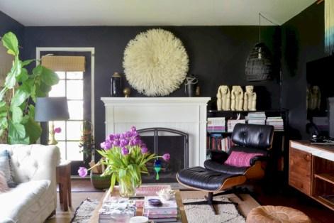 Totally inspiring boho living room ideas 27