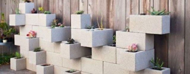 Adorable easy cinder block ideas for garden (38)