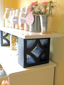 Adorable easy cinder block ideas for garden (5)