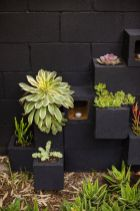 Adorable easy cinder block ideas for garden (8)