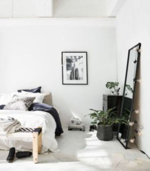 Adorable minimalist bedroom design decor ideas (39)
