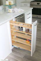 Affordable kitchen cabinet organization hack ideas (11)