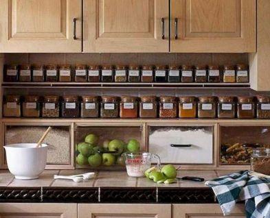 Affordable kitchen cabinet organization hack ideas (12)