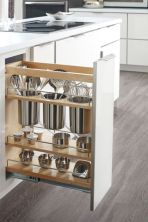 Affordable kitchen cabinet organization hack ideas (22)