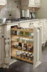Affordable kitchen cabinet organization hack ideas (24)