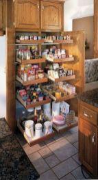 Affordable kitchen cabinet organization hack ideas (29)