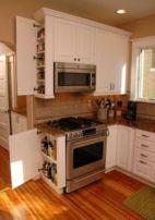 Affordable kitchen cabinet organization hack ideas (37)