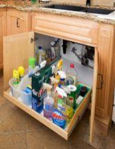 Affordable kitchen cabinet organization hack ideas (40)