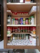 Affordable kitchen cabinet organization hack ideas (8)