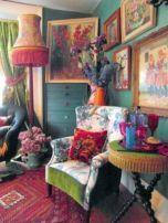 Amazing bohemian style living room decor ideas (11)