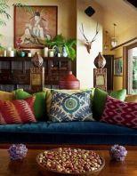 Amazing bohemian style living room decor ideas (4)