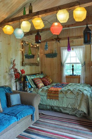 Awesome bohemian style home decor ideas (16)