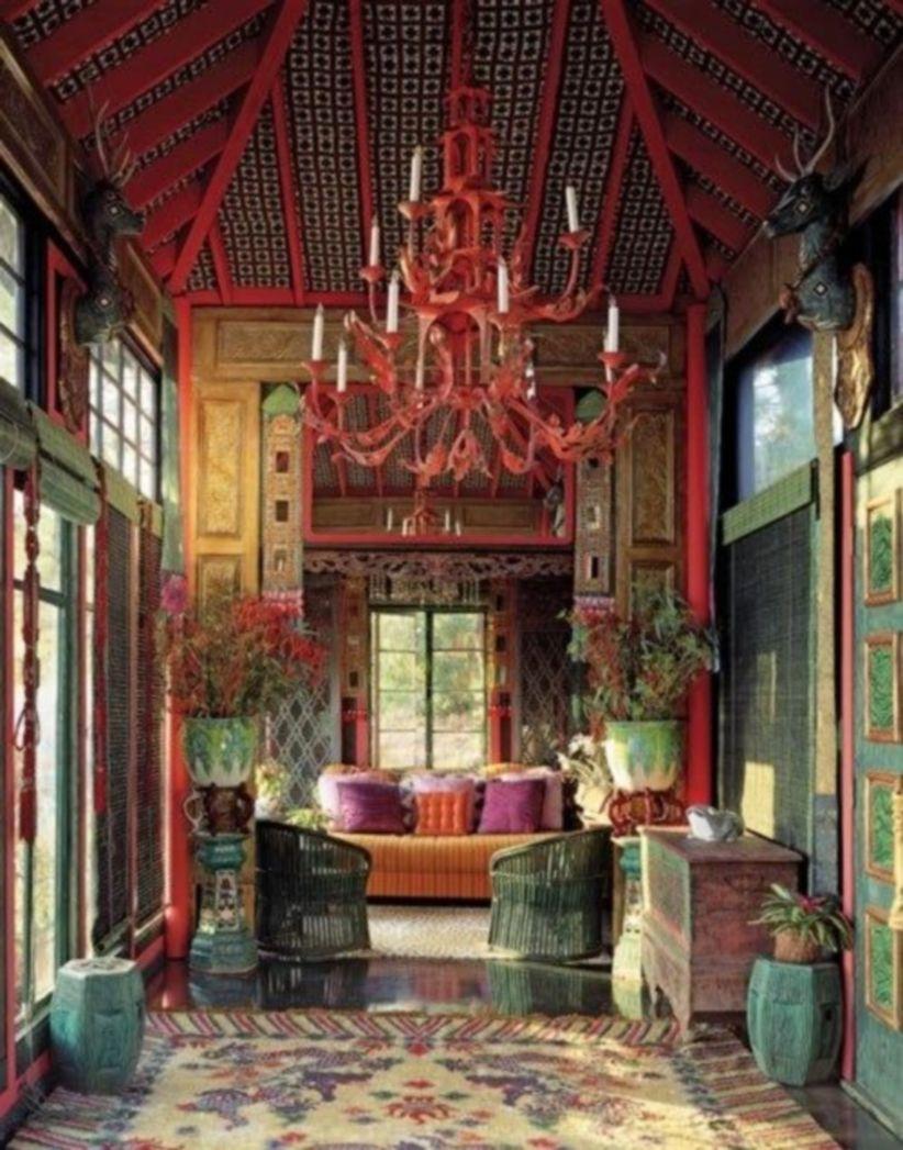 Awesome bohemian style home decor ideas (26)