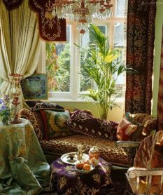 Awesome bohemian style home decor ideas (28)