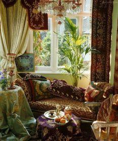 Awesome bohemian style home decor ideas (28)
