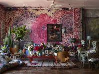 Awesome bohemian style home decor ideas (34)