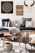 Awesome bohemian style home decor ideas (37)