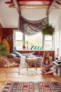 Awesome bohemian style home decor ideas (38)