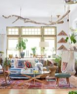 Awesome bohemian style home decor ideas (42)
