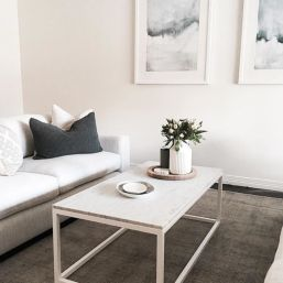 Beautiful marble coffee table design ideas for living room (11)