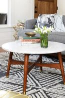 Beautiful marble coffee table design ideas for living room (29)