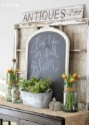 Beautiful spring mantel decorating ideas on a budget (30)