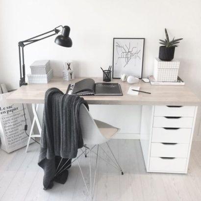 Best ideas for minimalist office interiors (15)