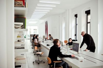 Best ideas for minimalist office interiors (18)