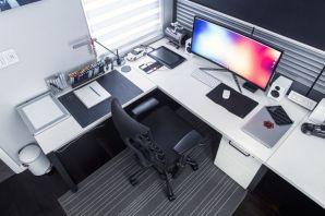 Best ideas for minimalist office interiors (2)