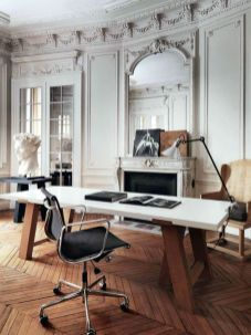 Best ideas for minimalist office interiors (25)