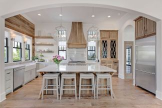 Cool coastal kitchen design ideas (13)