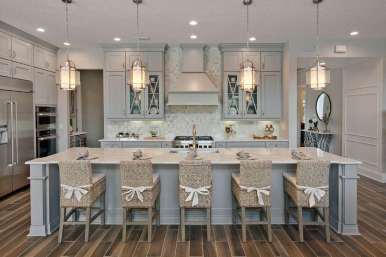 Cool Coastal Kitchen Design Ideas 34 Roundecor