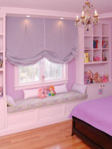 Cute pink kids bedroom designs ideas for small room (32)