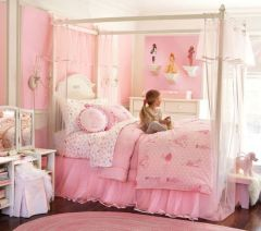 Cute pink kids bedroom designs ideas for small room (36)