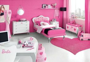 Cute pink kids bedroom designs ideas for small room (4)