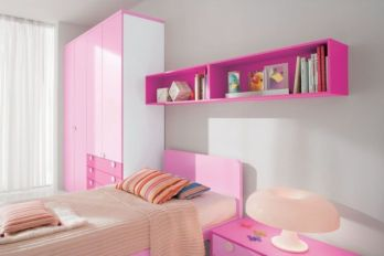 Cute pink kids bedroom designs ideas for small room (40)