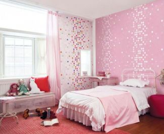 Cute pink kids bedroom designs ideas for small room (41)