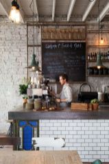 Fantastic home coffee bar design ideas you may try (16)