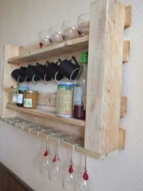 Fantastic home coffee bar design ideas you may try (29)