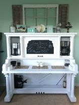 Fantastic home coffee bar design ideas you may try (39)