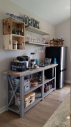 Fantastic home coffee bar design ideas you may try (4)