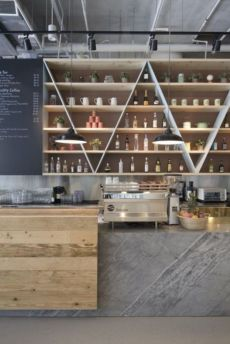 Fantastic home coffee bar design ideas you may try (8)