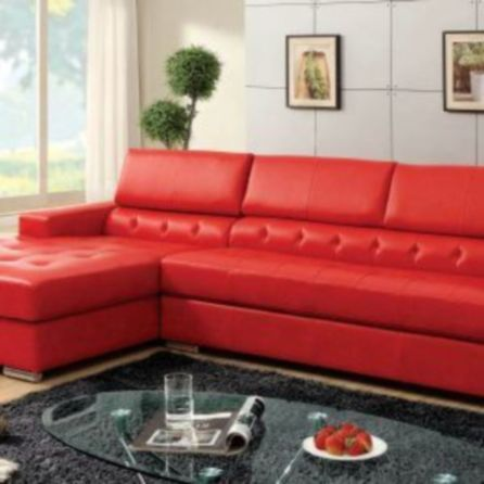 Fantastic red leather sofa designs ideas for family rooms (1)